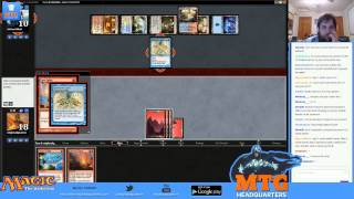 Modern Gameplay Mono Red Burn 1.0 Vs Control