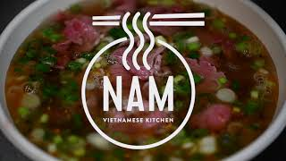 Pho from NAM Vietnamese Kitchen comes in beef too!