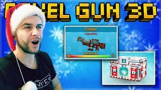 SEASON PASS COOLER PRIMARY WEAPON AND SUPER CHEST OPENING! | Pixel Gun 3D