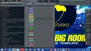 Future Big Room FL Studio Template Vol 1 FLP