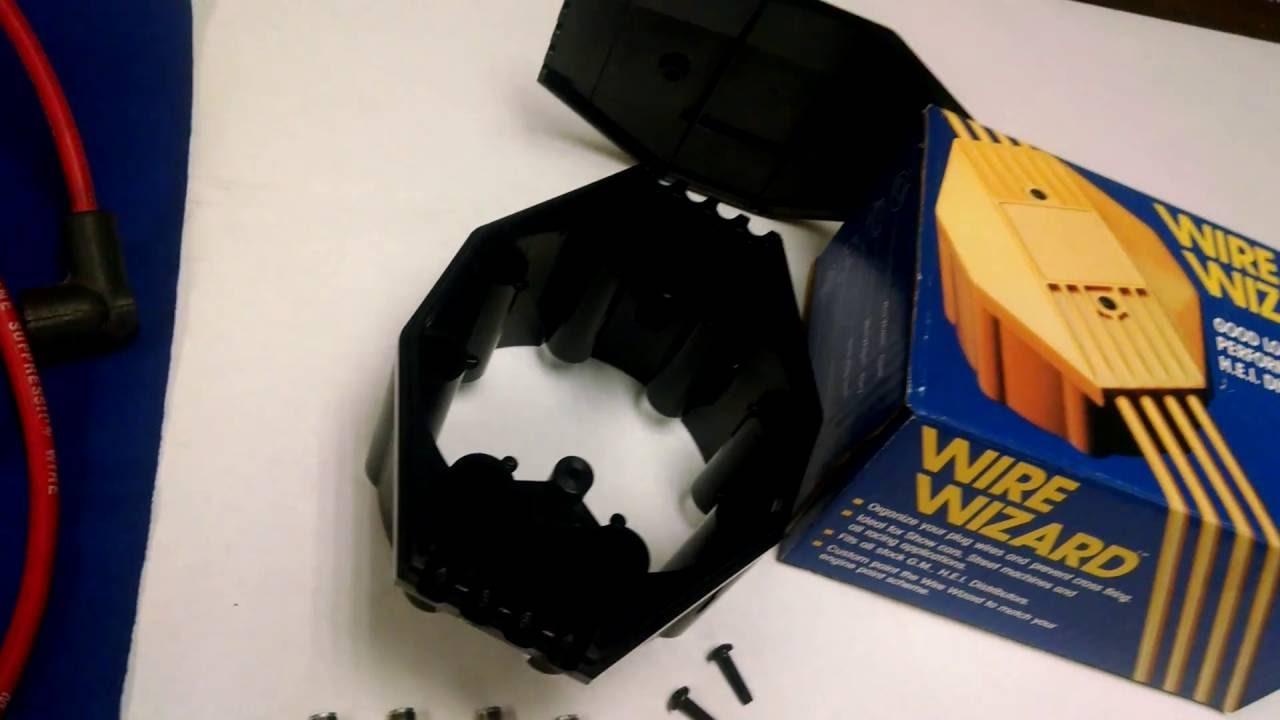 Wire Wizard Chevy V8 Hei Gm Stock Distributor Cap Coil Cover Spark Plug Org