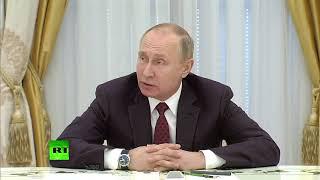 Путин: «Никакой гонки вооружений мы не допустим»