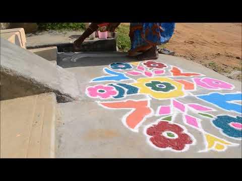 Kolam by Mina Ponkal Madurai Tiruppalai
