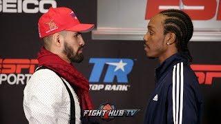 JOSE RAMIREZ VS AMIR IMAM - FULL FACE OFF VIDEO - FINAL PRESS CONFERENCE
