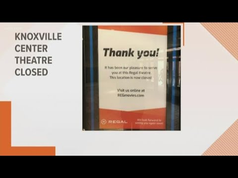 Regal Theatre Knoxville Center Closes Down