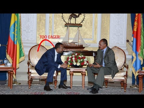 Breaking News, Ethiopian Prime Minister Abiy Ahmed visits Eritrea,