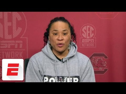 Dawn Staley upset with NCAA over South Carolina's draw in women's basketball tournament | ESPN