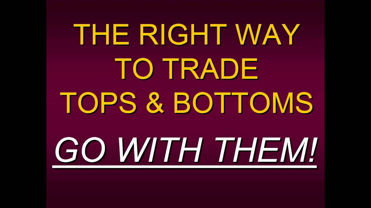 Steven Primo The Right Way To Trade Tops And Bottoms In All Markets