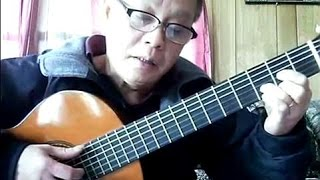 Trở Về (Châu Kỳ) - Guitar Cover by Bao Hoang