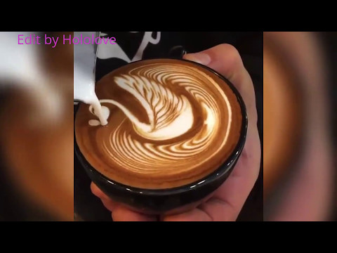 The Most Satysfying Cappuccino Latte Art 2017