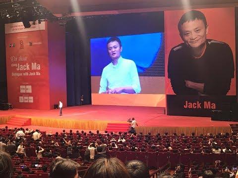 Dialogue with Jack Ma in Vietnam - Đối thoại với Jack Ma tại VN