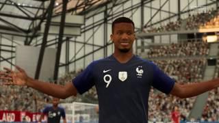 FIFA 20 | Frankrijk (alt.)  - Engeland (alt.) ('REAL FACES') ('No Rules') (NL commentaar)