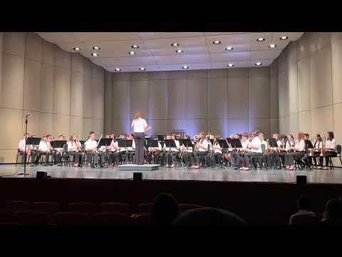 "Lone Hill Middle School Advanced Band - ""Heaven's Light"""