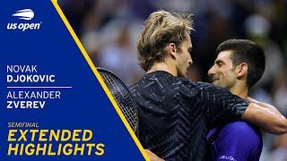 Novak Djokovic vs Alexander Zverev Extended Highlights