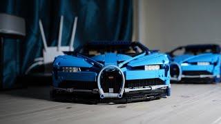 [4K] 레고 부가티 시론 vs 중국 짝퉁 레고 3부 스피드빌드 LEGO BUGATI Speed Build