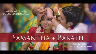 "The Grand Hindu Wedding at Pondicherry | ""SAMANTHA + BARATH"" by FocuzStudios.com [HD]"