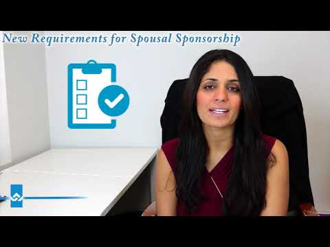 New Requirements for Spousal Sponsorship