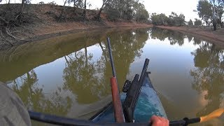 A collection of classic clips from kayak, Quad and on foot over the last few hunts.