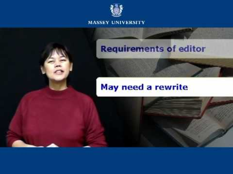 Getting Your Research Published