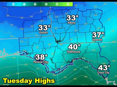Tallahassee Area #ColdOutbreak Video Briefing