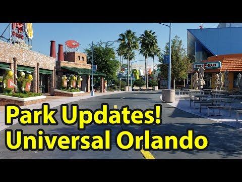 Updates Regarding Universal Studios Orlando 2020