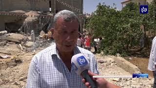 """الاحتلال يهدم منزل عائلة منفذ عملية """"حلميش"""" - (16-8-2017)"""