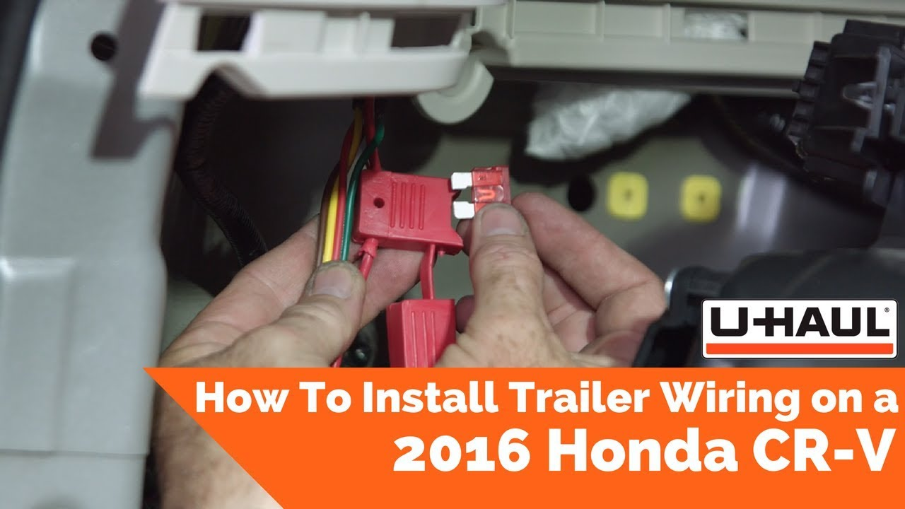 2016 Honda Cr-v Trailer Wiring Installation
