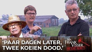 Mr. Frank Visser: hoe is het nu met?: Koeien afgeslacht door buurman Van Rie