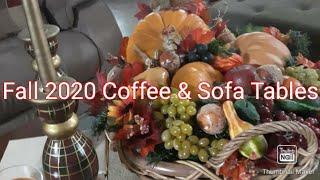 Fall 2020 Coffee Table, Sofa T…