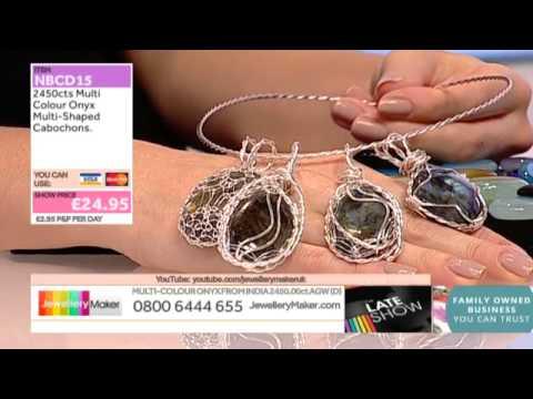 Clear Quartz and Keshi Perals for jewellery making: JewelleryMaker LIVE 28/09/2014