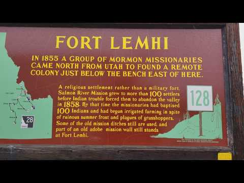 Historic Landmark- Fort Lemhi