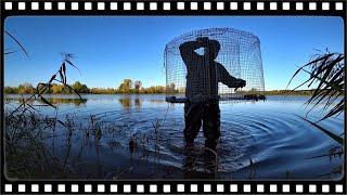 Пастка для риби ФІНСЬКА КАТИСКА. Як легко зловити рибу.
