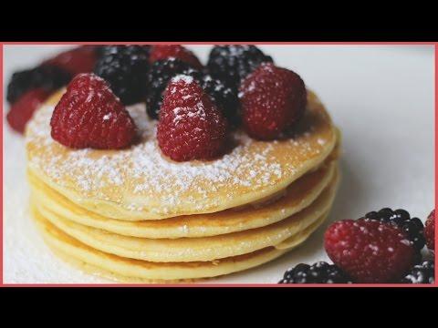 recette pancakes l 39 am ricaine youtube. Black Bedroom Furniture Sets. Home Design Ideas
