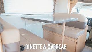 Apollo RV USA Demo Video - Winnebago: Converting the Dinette & Overcab for sleeping