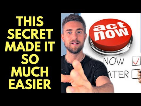 The Secret to Following Through with Intentions and Action using the Law of Attraction