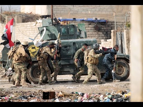 Raw: Iraqi security forces begin new push against IS in Mosul