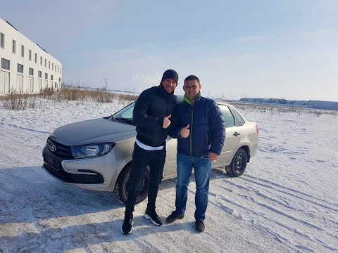 Выдача Lada Granta Classic 2020 года Цвет Техно! Уехала в Ульяновск!!!