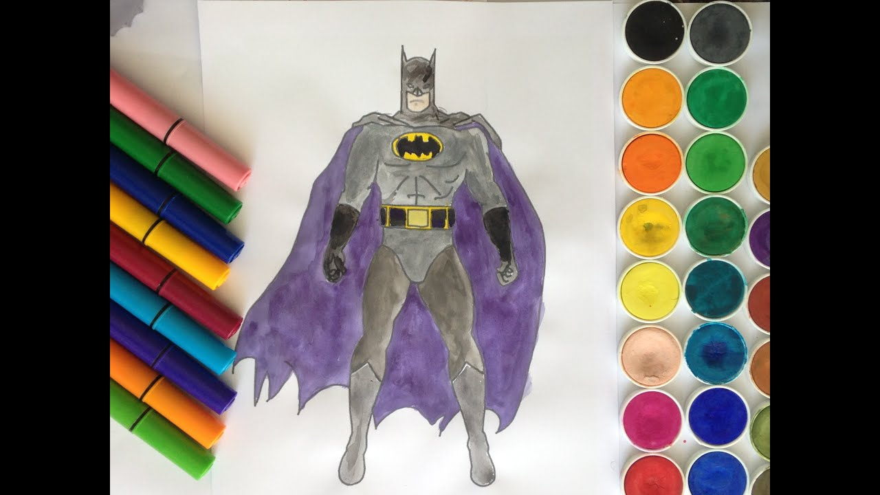 Batman Boyama Sayfasi Batman Coloring Pages For Kids Toddlers