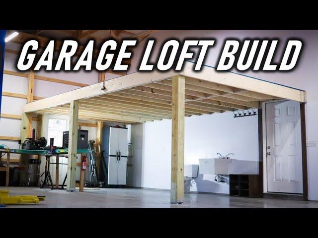 Building A Large Mezzanine Loft By Myself Full Build You