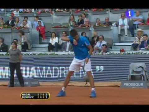 Rafa Nadal vs. Novak Djokovic , tie-break  final (1/2)