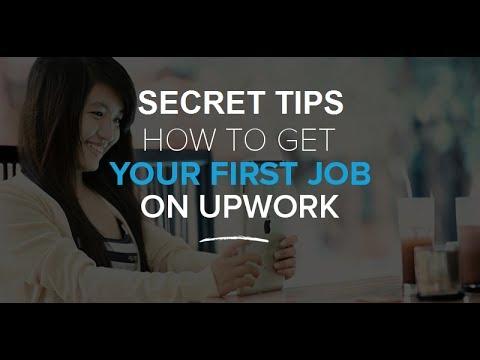 Some secret tips for getting the job easily on Upwork - YouTube