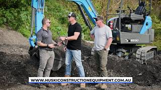 Huski Mini Excavator Review (Landscape Contractor Mag)