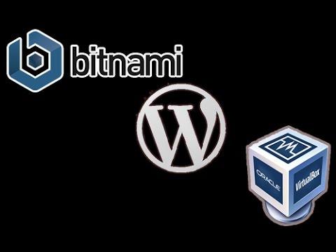 How to install Bitnami WordPress using Virtualbox