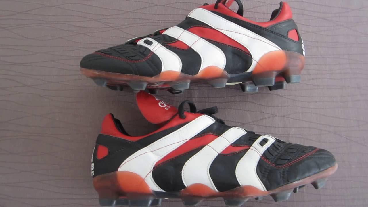 on sale a6dc5 3ea24 RARE ADIDAS PREDATOR ACCELERATOR FG WORLD CUP FRANCE 1998 ZIDANE DELPIERO  BECKHAM