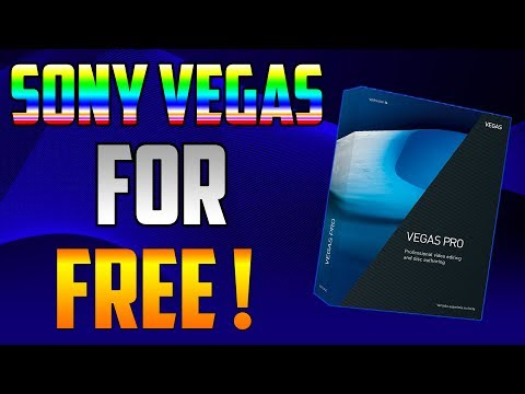 How to download SONNY VEGAS PRO 14 for FREE!!!