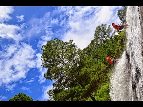 Special Canyoning in Dalat, Vietnam with Viet Challenge