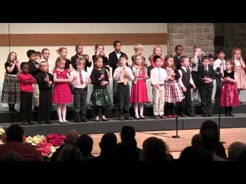 Mars Hill Academy Kindergarten - Away in a Manger