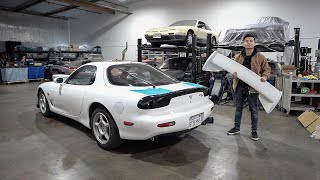 Extremely RARE Spirit R Wing for the FD RX7!