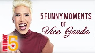 Friday 5: Funny Moments of Vice Ganda in Pilipinas Got Talent Season 5