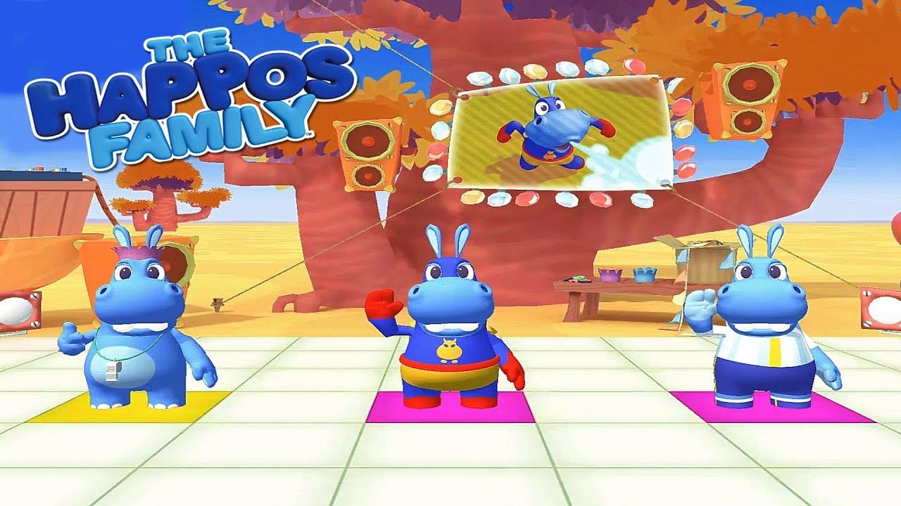 The Happos Family Hora De Jugar Juegos Infantiles Cartoon Network Youtube